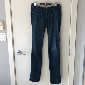 Rich and Skinny Jeans Dark wash Stretchy Size 26